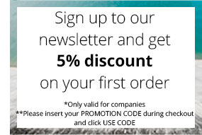get 5% discount when signing up to our newsletter